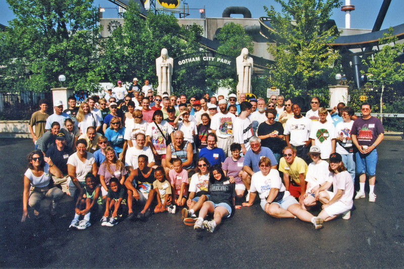 1999 CoasterPalooza, held August 26–28, at Six Flags Great America.<br /> Photo by S. Madonna Horcher