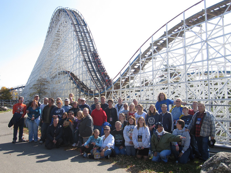 ACE Day at Six Flags Great America, held October 16, 2010.<br /> Photo by Scott Heck