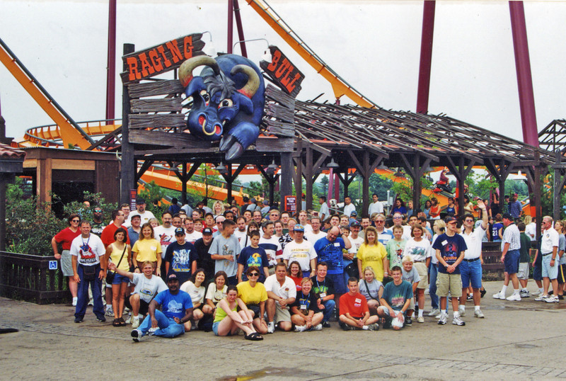 Coaster Quest 2000, held August 25–26, 2000, at Santa's Village and Six Flags Great America.<br /> Photo taken at Six Flags Great America, by S. Madonna Horcher.