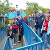 ACE Day at Six Flags Great America, held October 3, 2009.<br /> Photo by Scott Heck