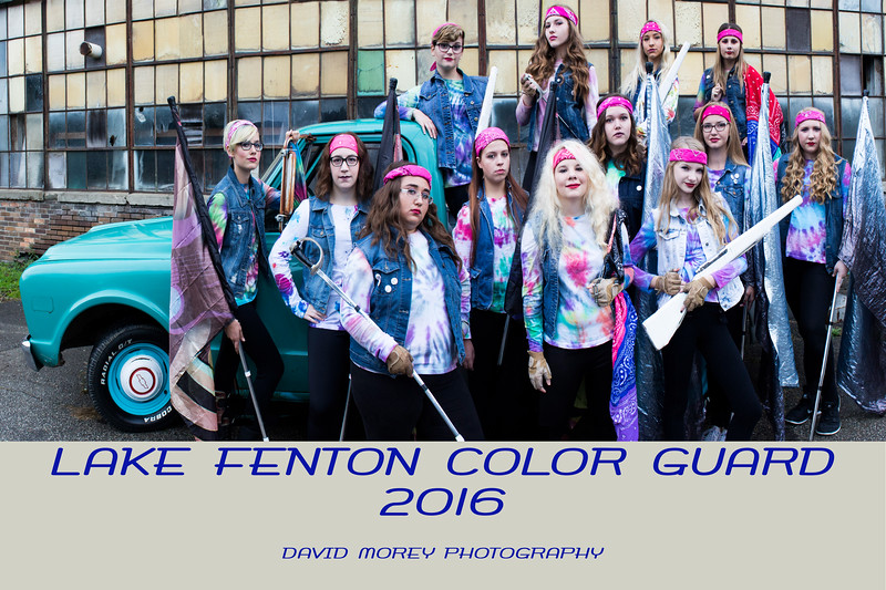 2016 Color Guard Group photo