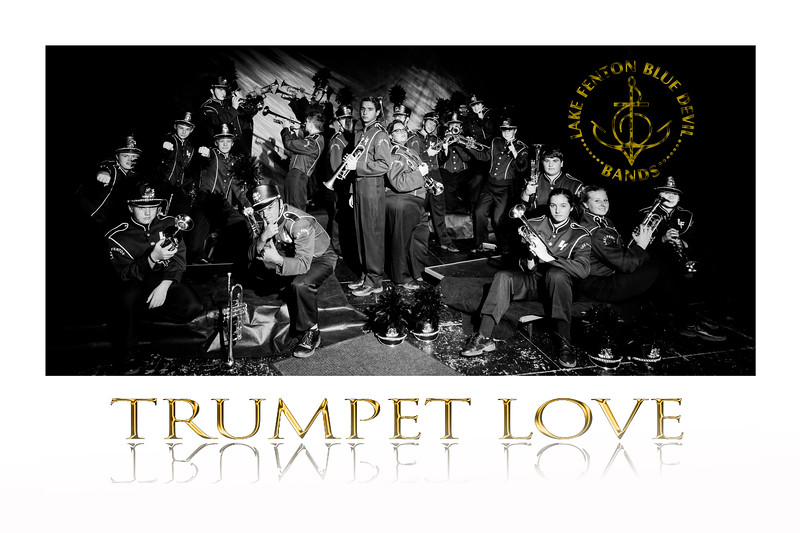 The LF Trumpets have a special Bond...it is, Trumpet Love!