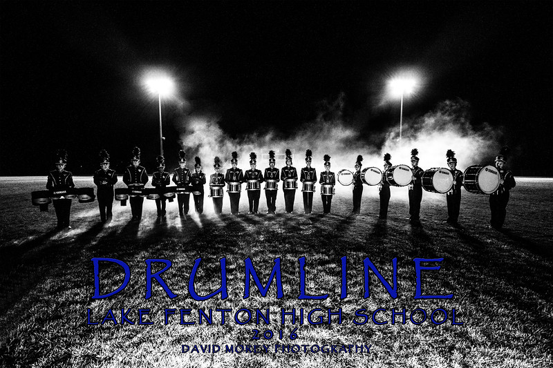 2016 Percussion group photo