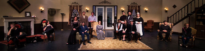 """Lake Fenton Theatre's production of Agatha Christie's """"And Then There Were None"""""""