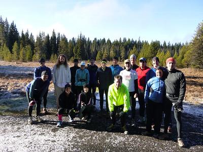 20121125 - Timothy Lake Trail Run