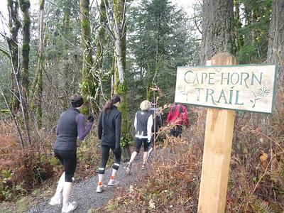 20121209 - Cape Horn Trail Run
