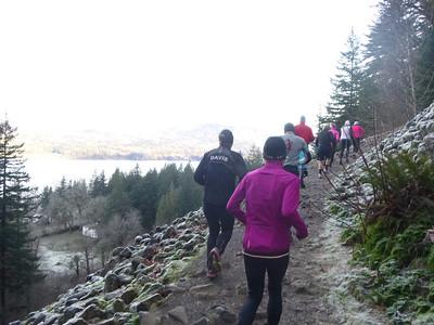 20130113 - Angels Rest Trail Run