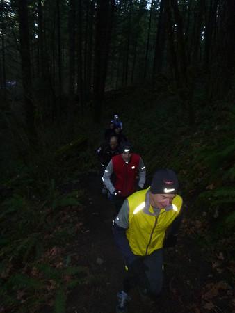 20130210 - Herman Creek Trail Run