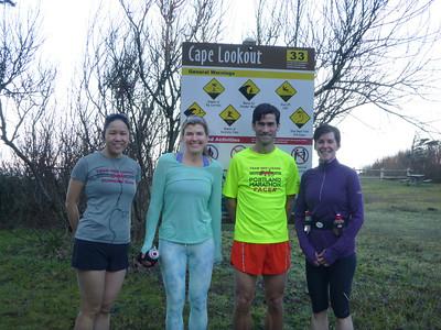 20140126 - Cape Lookout Trail Run