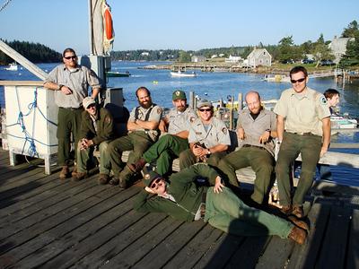 2007 - Isle au Haut Work Crew
