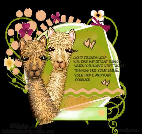 MA_Alpaca 2 friends are Generic 2018 MM
