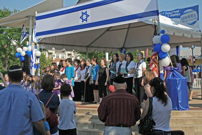 5524-All choirs sing Hatikv