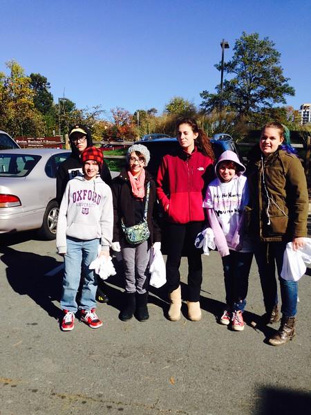 Help Homeless Community Walk-2014-10