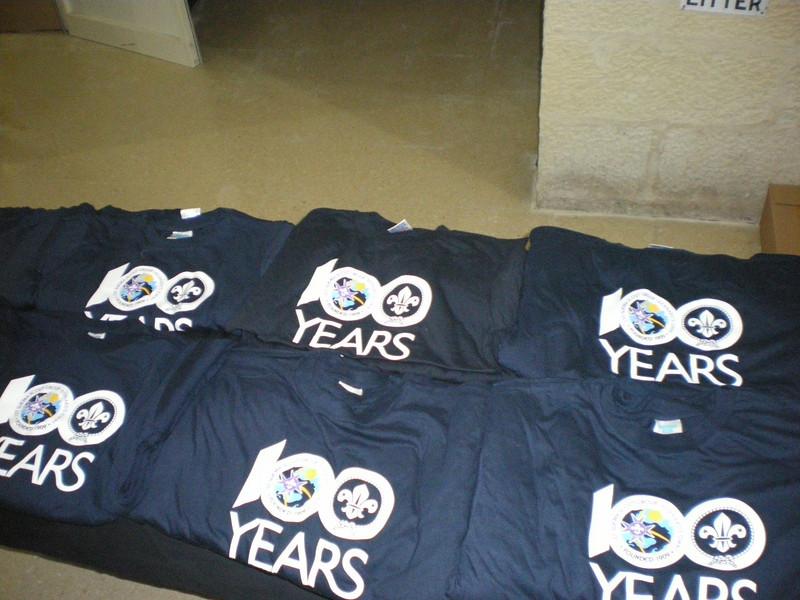 The centenary t-shirts!! :D
