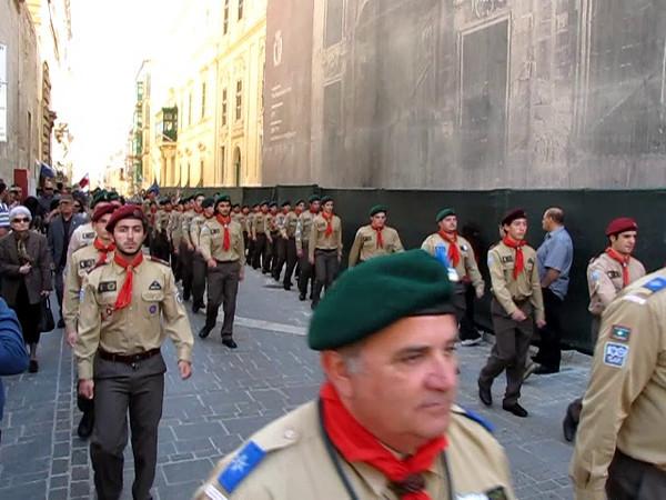 VIDEO: Marching towards the finishing line! Upper Barrakka! :)