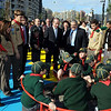 The Prime Minister, the Hon. Lawrence Gonzi, inaugurates the `George Bonello Du Puis Garden`.<br /> Qui Si Sana, with Sliema Cubs Photo: DOI