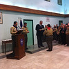 Mark Darmenia receiving his Chief Scout Commendation for Good Service Award