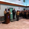 Jonathan Mercieca receiving his Chief Scout Award