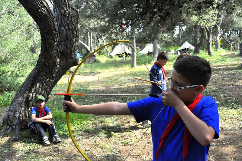 Dean takes aim