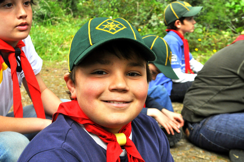 all smiles from Cub Michael! seems like he's enjoying camp so far :)