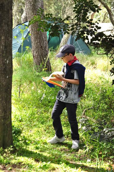 Mowgli (Tarzan for this camp) prepare his points clipboard!