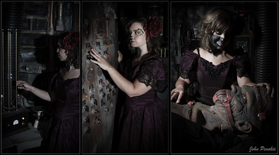 Angie Furger, Hair: Danielle Dolinar, Horror, Makeup: Alicia O'Donnell, Makeup: Bryce Woldt, MonstersAndModels