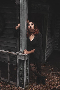 Event: Monsters Model Motars (MMM) 2019 Model: Katherine Schneider Hair: Clerra Oshedflay MUA: Macy Mooren SFX MUA:  Photographer: John Penokie / EyeOnYouPhotos.com