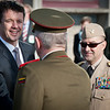 09 March, 2012. Prince Frederik of Denmark welcome ceremony with SACEUR, Admiral James Stavridis. Picture by MSgt Sebastian Fischhaber-DEU-Air Force.