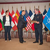 13 June 2012 - COS Commendation Awards in Protocol Lounge. Adjutant Chief Frederic Joury of Operation and Intelligence Division, joined by his companion Ms. Annabelle Thibault. (NATO photo by Ger. Army Sgt. Emily Langer)