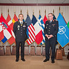13 June 2012 - COS Commendation Awards in Protocol Lounge. Lt.Col. Jean Marc Perreaut, French Army. He worked tirelessly within SHAPE, Force Readiness Division, as a projekt officer. (NATO photo by Ger. Army Sgt. Emily Langer)