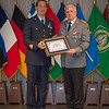 COS Commendation award ceremony. General Werner Freers presents Commendation Awards at Protocol Lounge-SHAPE/Belgium. (NATO photo by Sgt. Emily Langer/DEU-Army)