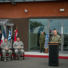 NATO Specialforces Headquarters Change of Command Ceremony officiated by General Phil Breedlove, Supreme Alied Commander Europe. Remarks by Vice Admiral Sean A. Pybus and incoming Com NSHQ Lietenant General Marshall B. Webb. On the 28th Aug 2014. SHAPE/Belgium (NATO Photo by Sgt. Emily Langer/ DEU-Army)