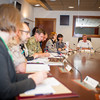 Round Table Discussion - Women's conference issues. Sept. 13 2013 (NATO/photo by Sgt. Emily Langer/DEU Army)