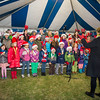 The Canadian School choir sang Oh Christmas Tree at the conclusion of the annual Christmas Tree Lighting ceremony at the Supreme Headquarters Allied Powers Europe in Mons, Belgium 9 Dec. 2013 (NATO photo/ Sgt. Emily Langer, DEU Army)