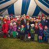 General Philip Breedlove, Supreme allied Commander Europe & his Wife Cindy are posing for a Group photo with the Canadian School choir during the annual Christmas Tree Lighting ceremony at the Supreme Headquarters Allied Powers Europe in Mons, Belgium 9 Dec. 2013 (NATO photo/ Sgt. Emily Langer, DEU Army)