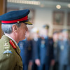 The Farewell and Handover Ceremony for the outgoing DSACEUR, General Sir Richard Shirreff. A welcome ceremony for the incoming DSACEUR, General Sir Adrian Bradshaw. (NATO/photo by Edouard Bocquet)