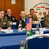 Supreme Allied commander Europe, Adm. James Stavridis attended the II Central European Chiefs of Defence Conference in Krakow, Poland Nov 7-8, 2012. (NATO photos by U.S. Army Sgt. 1st Class VeShannah J. Lovelace)