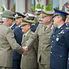 Honor guard ceremony in honor of the visit of Italian ChoD, General Biagio Abrate with SACEUR, Admiral James Stavridis at SHAPE, Belgium on October 8, 2012.<br /> NATO Photo by RNLAF Sgt Peter Buitenhuis.
