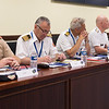 Captain (N) Dragoslav Pumpalovic ( second front), Deputy Montenegrian Military Representative, attends the NATO Military Representative Meeting for the first time as Montenegro joined NATO earlier this month. (NATO Photo by Sgt. 1st Class Stefan Hass - DEU A)