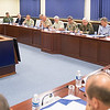 29 Military Representatives attend the Meeting at the Supreme Headquarters Allied Powers Europe, Mons, Belgium on 22 June. (NATO Photo by Sgt. 1st Class Stefan Hass - DEU A)