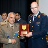 The Director NATO Communication and Information System Services Agency (NCSA), Lieutenant General Kurt Herrmann GER Air Force, presented awards to members of NCSA HQ, Sector Mons and Sector Commanders at the Supreme Headquarters Allied Powers Europe (SHAPE) on Thursday 28 June 2012.