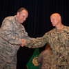 NSHQ Change of Command Ceremony on the 2st July 2013 (photo taken by Sgt.Emily Langer, DEU Army)