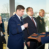Ribbon cutting ceremony at the new NATO Special Operations Headquarters building at SHAPE, Dec. 12, 2012. (NATO Photo by RNLAF Sgt Peter Buitenhuis)