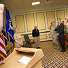 Wednesday, 21 september 2011. Promotion Ceremony for RADM (sel) Robin R. Braun, at the Swabian Special Event Center in Patch - Stuttgart. Picture by Sgt Peter Buitenhuis - RNLAF