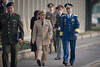 SACEUR, Adm James Stavridis, attends to a Welcome Ceremony in honor of Romanian ChoD, LTG Stephan Danila, at SHAPE on the 21st of November 2011.<br /> Photo by MSG Edouard Bocquet, French Air Force, NATO.