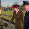 17 January, 2012. Russian ChoD, General Nikolay Makarov and Russian Federation visits SHAPE. They are welcomed by SACEUR, Admiral James Stavridis with a Honor Guard. Picture by Sgt Peter Buitenhuis - RNLAF.