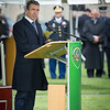 Anders Fogh Rasmussen, NATO Secretary General, addresses the crowd during the Allied Command Operations change of command ceremony on May 13, 2013.<br /> (NATO photo by Sgt Peter Buitenhuis RNLAF)