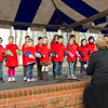 "11 January, 2012. Children from the Canadian School singing the song "" We are the Future of Tomorrow"" during the SHAPE International School Ceremony. Picture by Sgt Peter Buitenhuis - RNLAF. all copyright SHAPE."