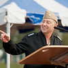 11 January, 2012. SACEUR, Admiral James Stavridis, telling the young  people about the value of education during the SHAPE International School Ceremony. Picture by Sgt Peter Buitenhuis - RNLAF. all copyright SHAPE.