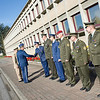 23 April, 2012. SVK ChoD, Major General Peter Vojtek visits SHAPE. He is welcomed by SACEUR, Admiral James Stavridis with Honor Guard. Pictures by Sgt Peter Buitenhuis. all copyright NATO.